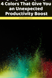 4 Colors That Give You an Unexpected Productivity Boost